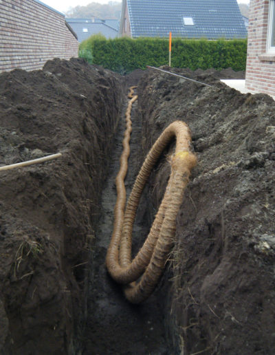 Lansmann: Drainage im Splitt