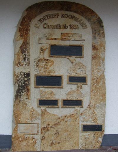 Lansmann: Relief Sandstein