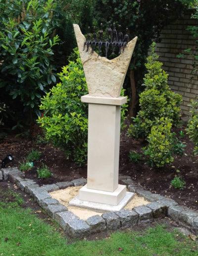 Lansmann: Skulptur Garten