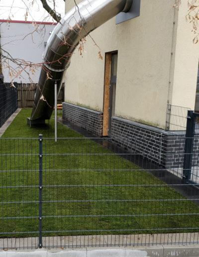 Lansmann: Gartenzaun Doppelstab