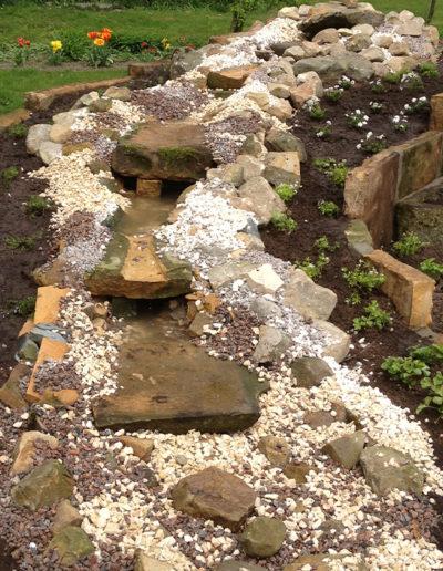 Lansmann: Gartenbrunnen Wasserlauf
