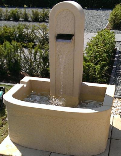 Lansmann: Brunnenanlage Bentheimer Sandstein