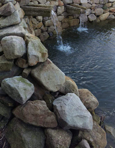 Lansmann: Gartenbrunnen Gartenteich