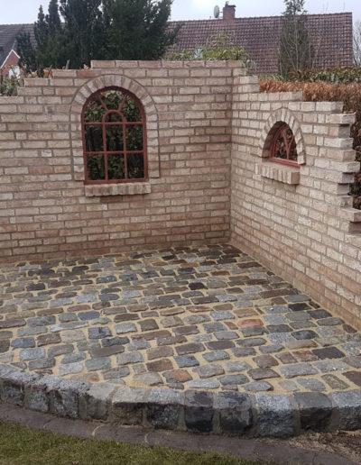 Lansmann: Gartenmauer Spanische Mauer