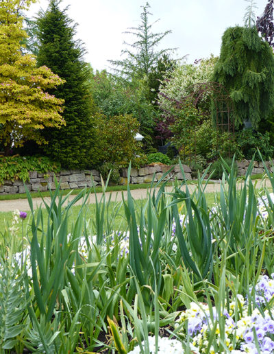 Lansmann: Gartenmauer Trockenmauer