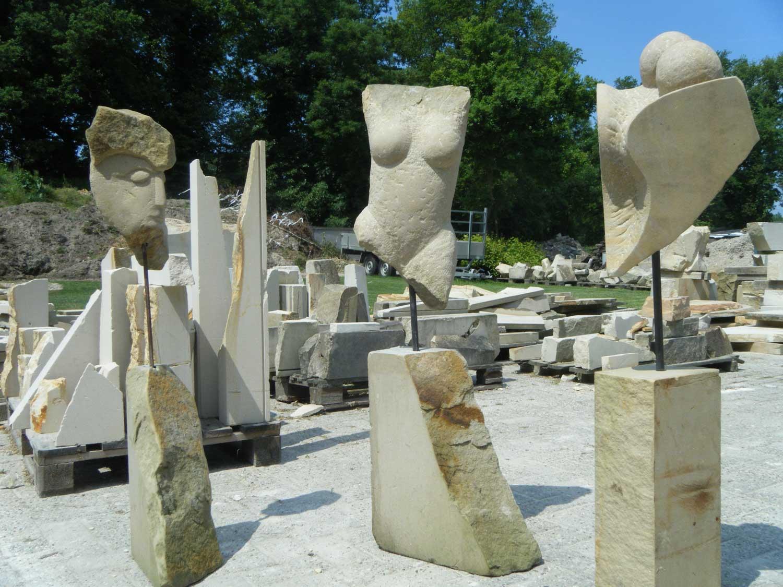 Lansmann: Kurse Sandstein Bildhauerei