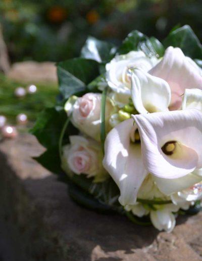 Lansmann: Hochzeitsfloristik Brautstrauß